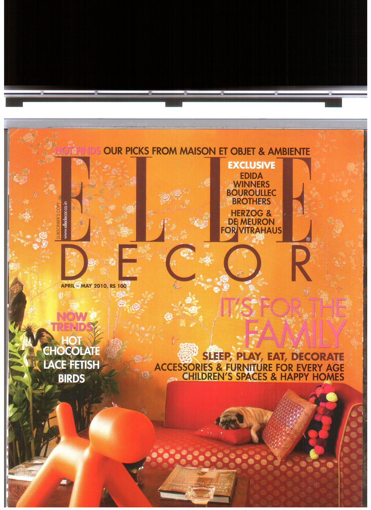 Elle Decor '10