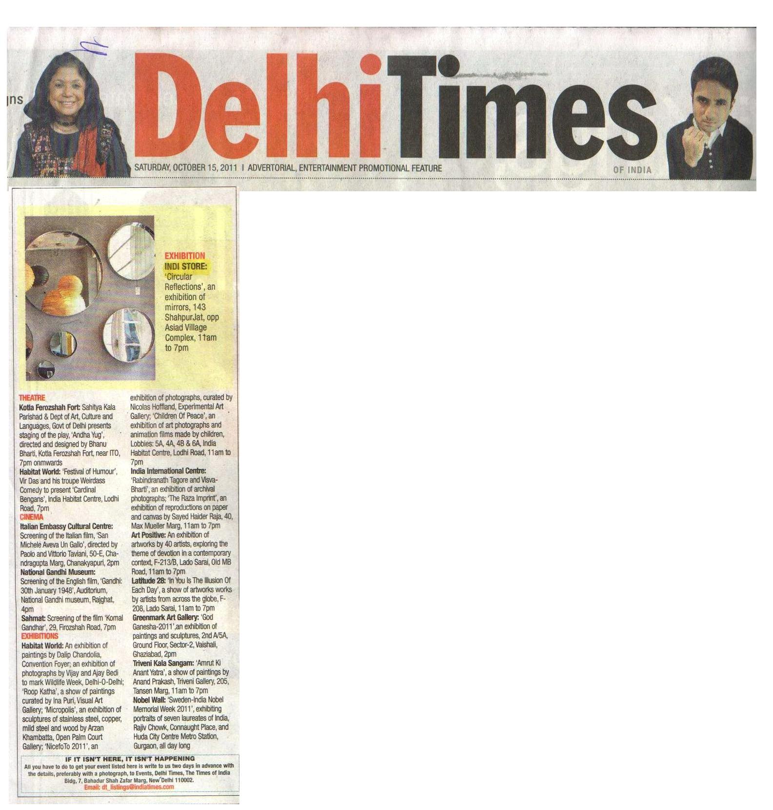 Delhi Times '11