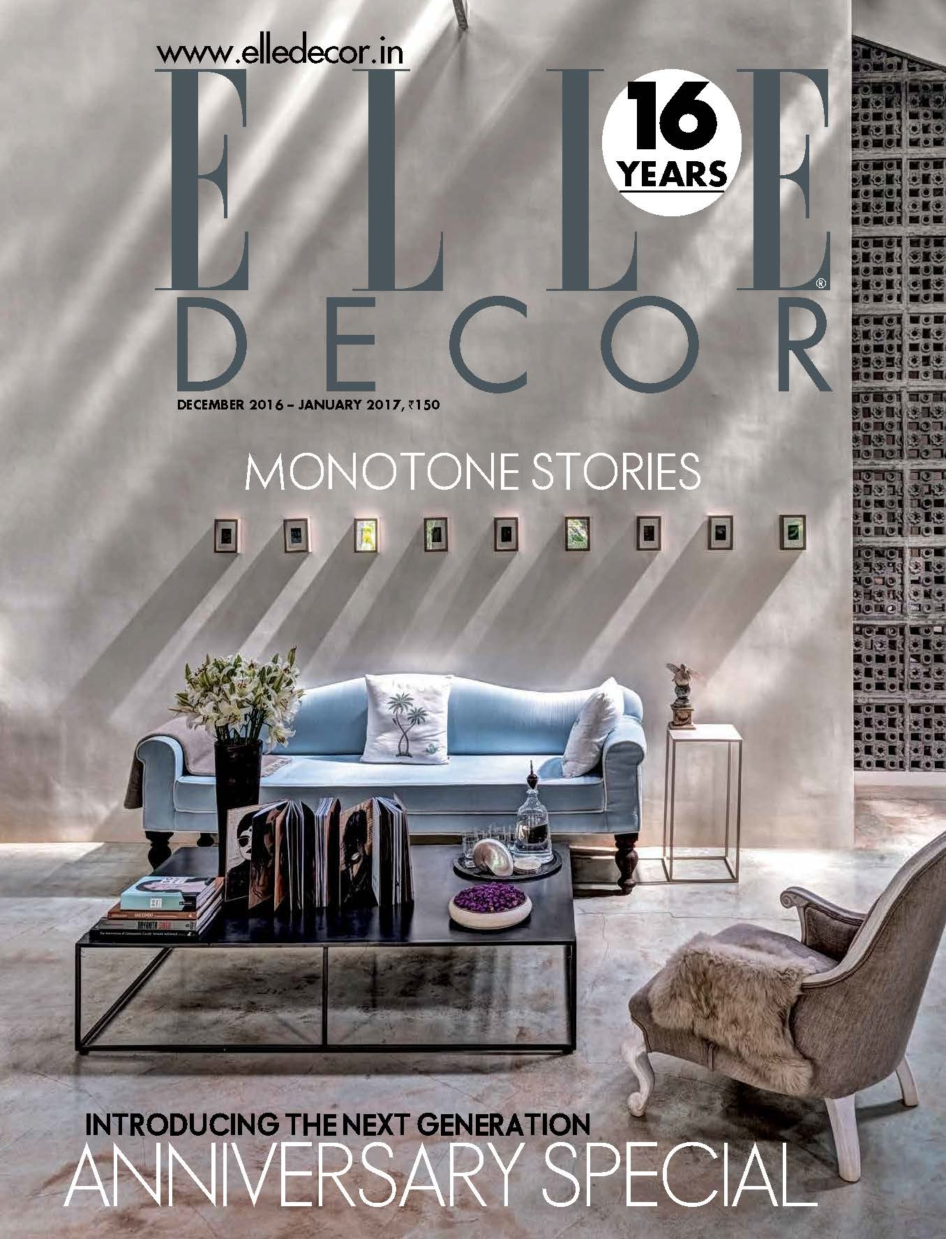 Elle Decor '16