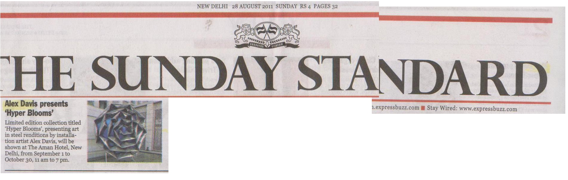 The Sunday Standard '11
