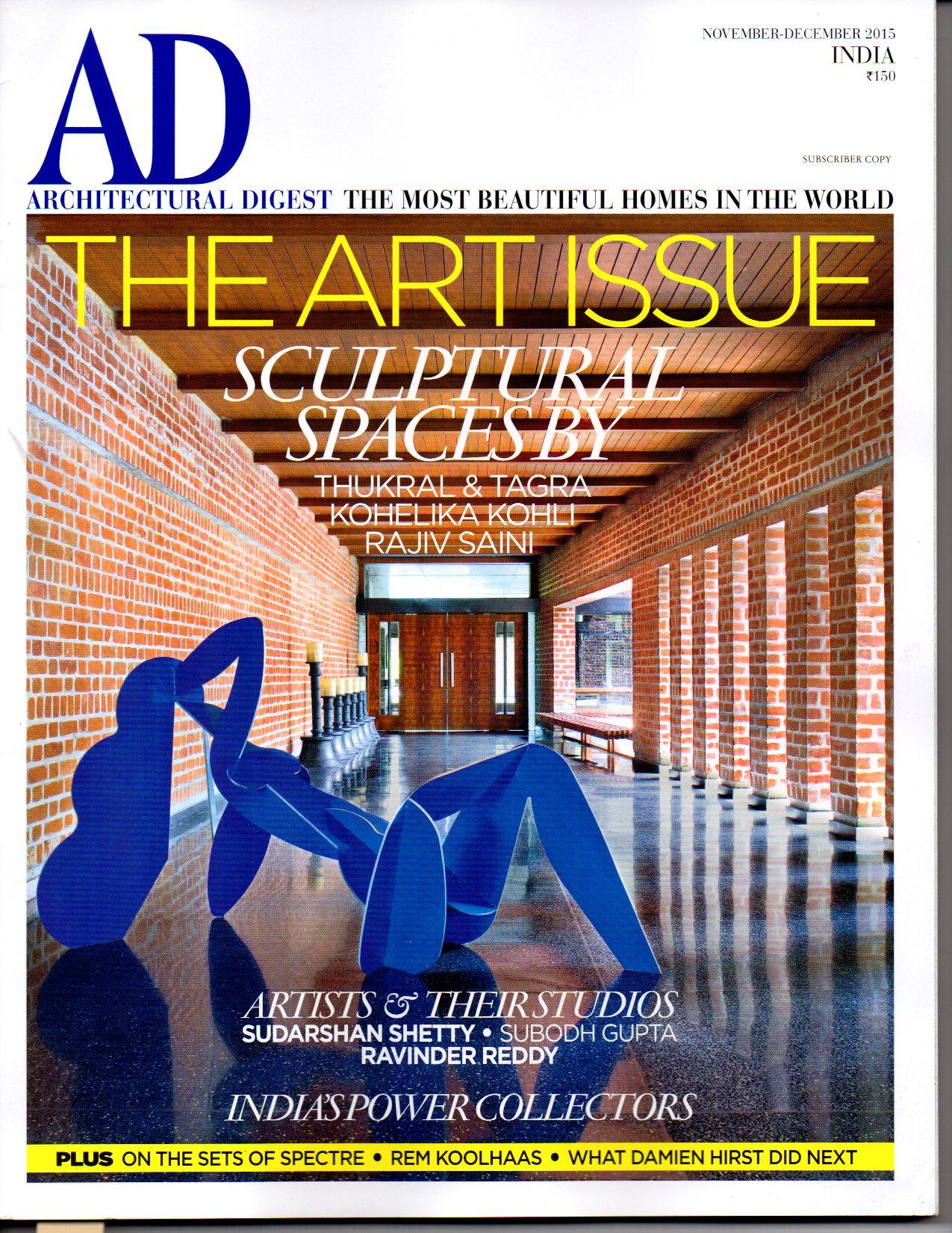Architectural Digest '15